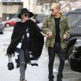 Exclusif - Ashlee Simpson (enceinte) et son mari Evan Ross en pleine séance de shopping à Los Angeles Le 07 Février 2015