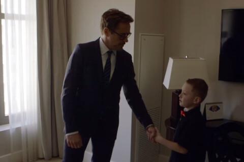 Robert Downey Jr. offre un bras bionique à un jeune garçon handicapé, émotion...