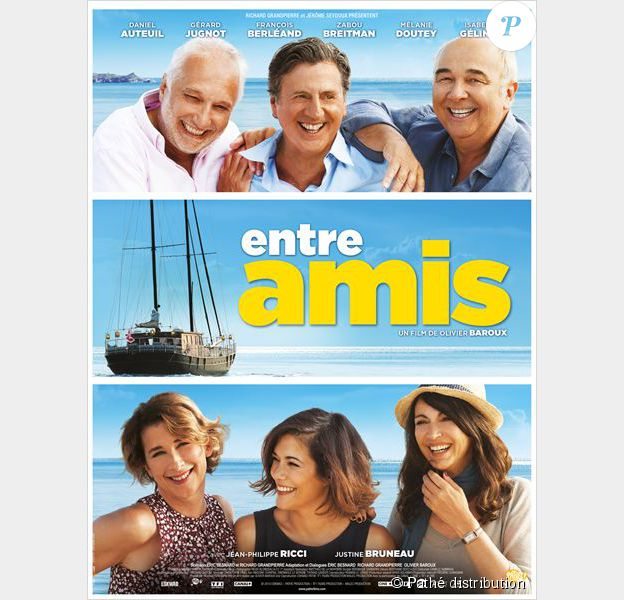 Affiche du film Entre amis, en salles le 22 avril