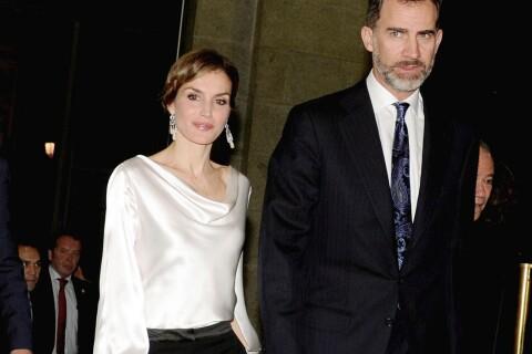 Letizia d'Espagne : Éblouissante au bras de Felipe pour un grand soir à l'Opéra