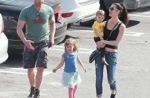 Ian Ziering : En famille avec sa femme et leurs adorables filles Mia et Penna