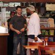 """Mister T, de son vrai nom Laurence Tureaud, est allé déjeuner au restaurant """"Judi"""" à Beverly Hills, Le 21 février 2014"""