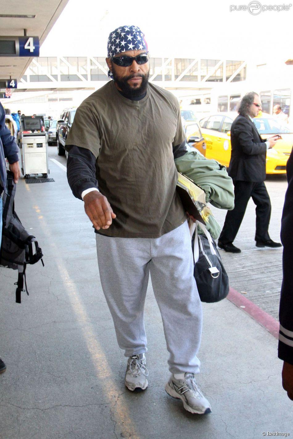 Mister T a l'aeroport de Los Angeles, le 1er novembre 2012.