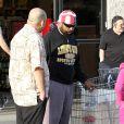 Mister T avec des fans à Los Angeles, le 30 mars 2012