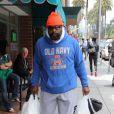 Mister T fait des courses à Beverly Hills, le 17 mai 2013