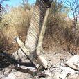 """""""Image sur le site du drame de Dropped, survenu le 9 mars 2015 dans la province argentine de La Rioja."""""""