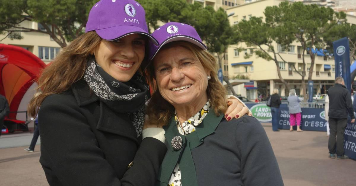 Catherine Pastor Et Alexandra Epouse Hallyday D Une Humeur De