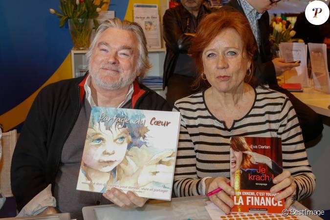 Christian rauth eva darlan salon du livre la porte de versailles paris le 22 mars 2015 - Salon du livre porte de versailles 2015 ...