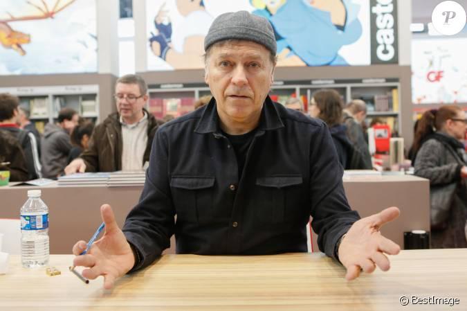 Enki bilal salon du livre la porte de versailles for Salon du livre porte de versailles 2015