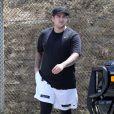 Exclusif - Rob Kardashian à Culver City, le 15 mai 2013.