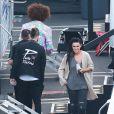 "Redfoo, Rumer Willis dans les studios de ""Dancing With The Stars"" à Hollywood, le 23 mars 2015"