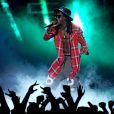 Lil Wayne aux BET Awards 2014. Los Angeles, le 29 juin 2014.
