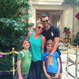 Britney Spears en famille, sur Instagram le 27 février 2015