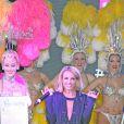 Britney Spears reçoit la clé de la ville de Las Vegas, le 5 novembre 2014.