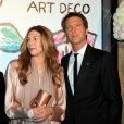 Rita Caltagirone et le prince Emmanuel Philibert de Savoie lors du Bal de la Rose qui se tenait au Sporting de Monte-Carlo à Monaco le 28 mars 2015