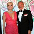 La marquise Roberta Gilardi Sestito et Donato Sestito lors du Bal de la Rose qui se tenait au Sporting de Monte-Carlo à Monaco le 28 mars 2015