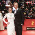 """Damian Lewis et sa femme Helen McCrory à la Première du film """"Queen of the Desert"""" lors du 65ème festival du film de Berlin, la Berlinale, le 6 février 2015."""