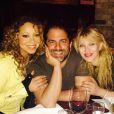 Mariah Carey a ajouté une photo à son compte Instagram, le 23 mars 2015