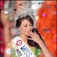 Rachel Legrain-Trapani, Miss France 2007, le soir de son élection. Le 9 décembre 2006.