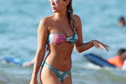 Natasha Oakley et Devin Brugman, stars du Web, la joue sexy sur la plage !