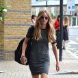 Cressida Bonas quitte le théâtre Rosemary Branch à Londres le 16 juillet 2014