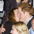 Le prince Harry et Cressida Bonas lors du We Dayy UK à Wembley, Londres, le 7 mars 2014