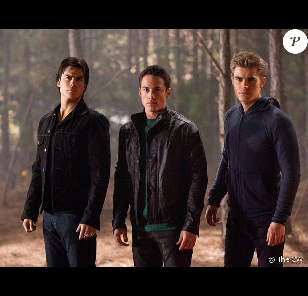 Vampire Diaries : photo Ian Somerhalder, Michael Trevino, Paul Wesley
