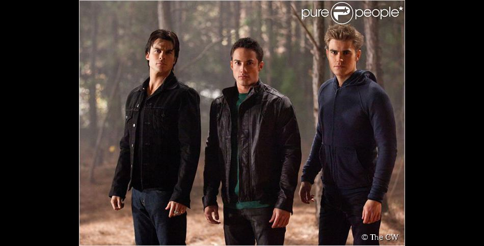 Vampire Diaries : photo Ian Somerhalder, Michael Trevino, Paul Wesley