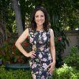 """Julia Louis-Dreyfus, qui interprète l'héroïne de la série télévisée """"Veep"""", pose à l'hôtel Four Seasons à Beverly Hills, le 1er mai 2014."""
