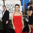 Julia Louis-Dreyfus - 71eme ceremonie des Golden Globe Awards a Beverly Hills le 12 janvier 2013.