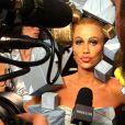 Kristen Wiig méconnaissable pour Zoolander 2. Photo postée le 3 avril 2015.