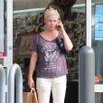 Alors qu'elle aurait emménagé avec son nouvel amoureux David Abrams, Jennie Garth a l'air particulièrement triste à l'annonce des fiançailles de son ex pari Peter Facinelli, à Los Angeles le 19 mars 2015