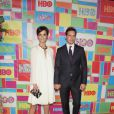 "Jaimie Alexander et son compagnon Peter Facinelli lors de la ""HBO Emmy After party"" à Los Angeles, le 25 août 2014.25/08/2014 - Los Angeles"