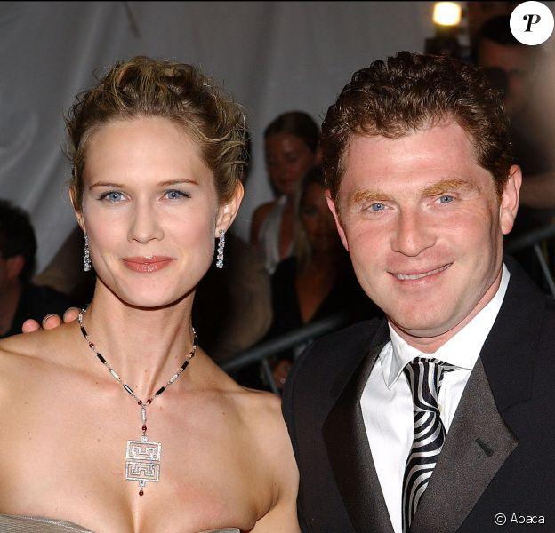 Stephanie March et son époux Bobby Flay au Metropolitan Museum of Art de New York, le 28 avril 2003