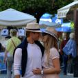 Nico Rosberg et sa belle Vivian Sibold à Portofino, le 15 mai 2014