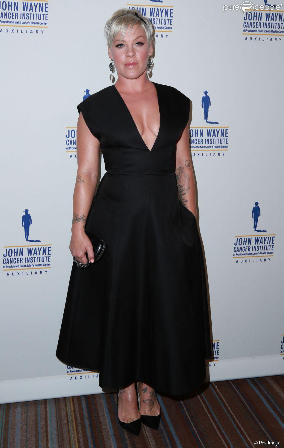 """Pink à la 30e soirée annuelle """"John Wayne Odyssey"""" à Beverly Hills, le 11 avril 2015"""