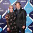 """La chanteuse Pink, Jeff Bridges - Personnalités lors de la 2e soirée annuelle de """"Unite4:humanity"""" à l'hôtel Beverly Hilton à Beverly Hills, le 19 février 2015."""