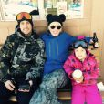Sur Twitter, la chanteuse Pink a ajouté une photo en famille le 1er janvier 2015