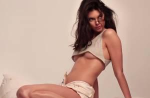 Kendall Jenner : En bikini, lingerie et topless, le mannequin séduit !