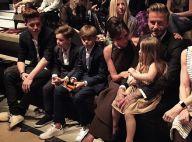Les Beckham : Chic en famille devant Aaron Paul amoureux et Jaime King enceinte