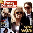 Magazine  France Dimanche  en kiosques le 17 avril 2015.
