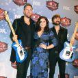 Lady Antebellum - Personnalites posant dans la salle de presse lors des American Country Awards 2013 a Las Vegas, le 10 decembre 2013.