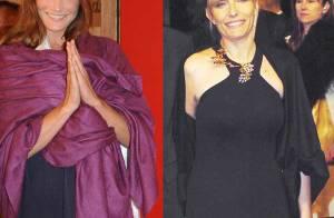 PHOTOS :  Les premières dames Carla et Sonsoles Espinosa : elles chantent... mais la ressemblance s'arrête là !