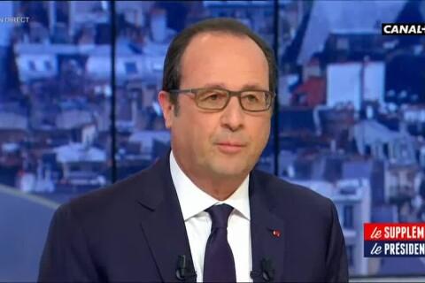François Hollande : 'Les infos de la presse people sur Julie Gayet me touchent'