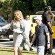 Khloé Kardashian assiste à la pool party de l'application de chat Regroupd. Bermuda Dunes, le 18 avril 2015.