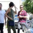 Kendall Jenner et Scott Disick arrivent à Barneys New York à Beverly Hills, Los Angeles, le 20 avril 2015.