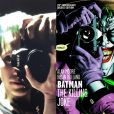"À gauche : Jared Leto en Joker pour ""Suicide Squad"" de David Ayer, avril 2015. À droite, le Joker en couverture du comic ""Batman: The Killing Joke""."