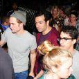 Robert Pattinson après avoir assisté au concert de FKA Twigs au 2e jour du Coachella Music Festival à Indio, le 11 avril 2015.