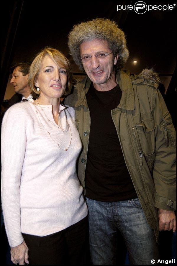 Florence Schaal au lancement de la chaine france 24 avec Elie Chouraqui