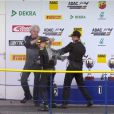 Mick Schumacher a terminé premier de la dernière course du premier rendez-vous de la saison de Formule 4 à Oschersleben, le dimanche 26 avril 2015